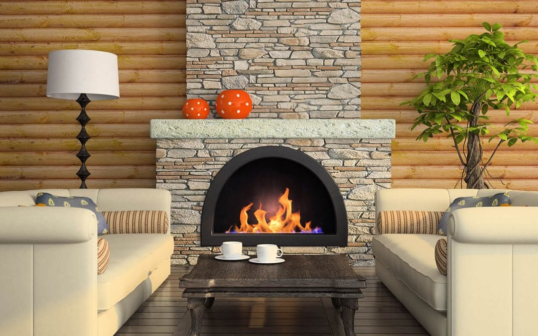prepare your fireplace by keeping it clean